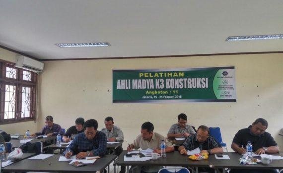 Pelatihan Ahli Madya K3 Konstruksi