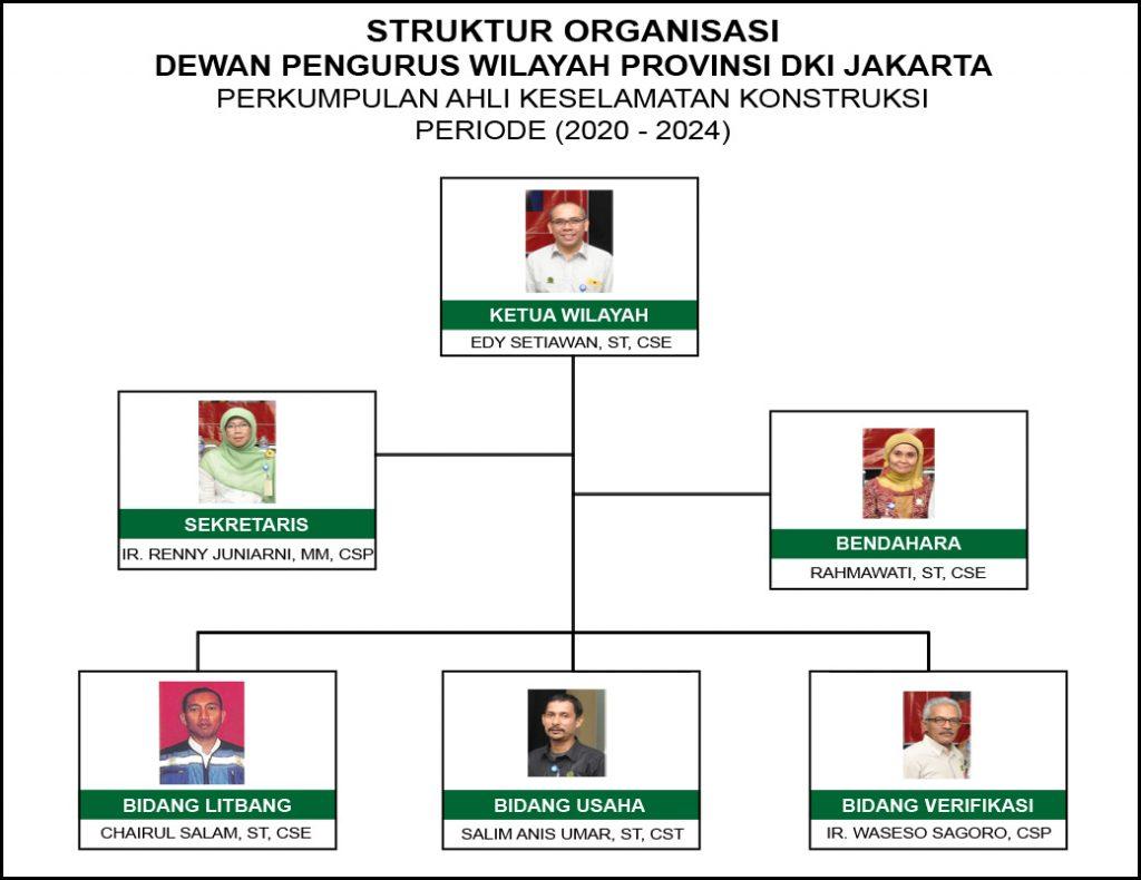 Struktur PAKKI DKI